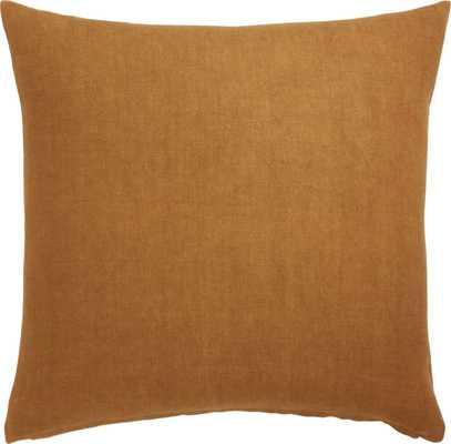 """""""20"""""""" Linon Copper Pillow with Down-Alternative Insert"""" - CB2"""