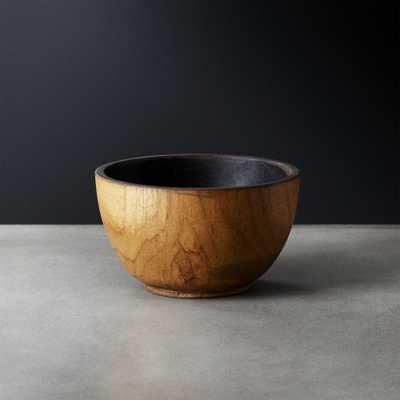 Pacific Teak Wood Bowl - CB2