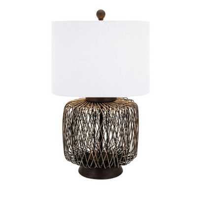 Bamboo Woven Table Lamp - Mercer Collection