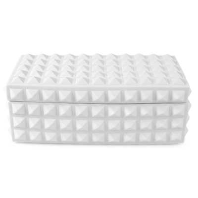 CHARADE SQUARE STUDDED BOX - Jonathan Adler