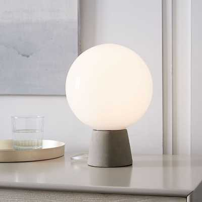 Nova Table Lamp - Concrete - West Elm