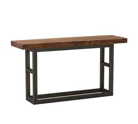 GRIFFIN RECLAIMED WOOD CONSOLE TABLE - Pottery Barn
