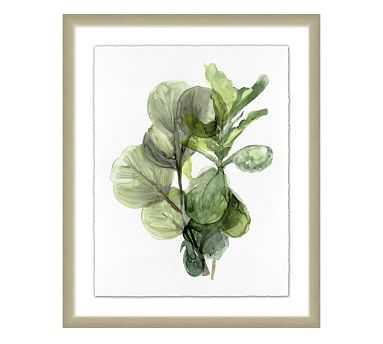 Green Organic Print - Pottery Barn