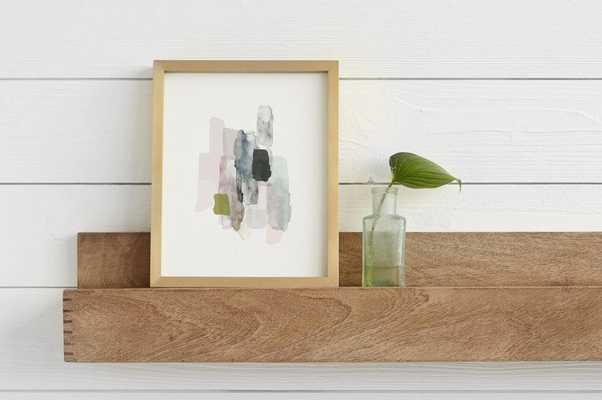 the artful shelf™ with stacked joints - 5' - Minted