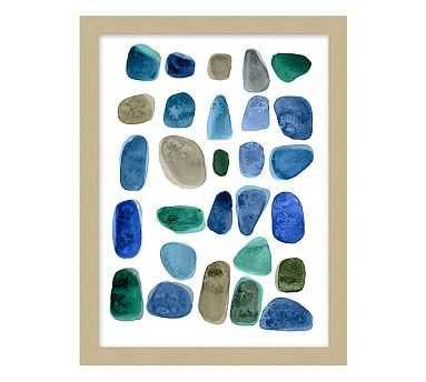 Ocean Pebbles Print - Pottery Barn