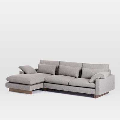 Harmony 2-Piece Chaise Sectional - West Elm