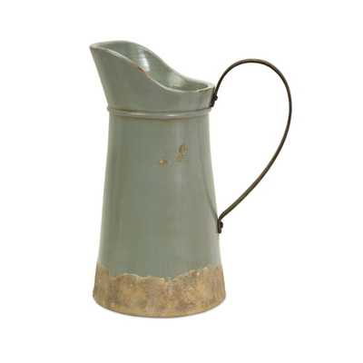 Calista Tall Pitcher with Metal Handle - Mercer Collection