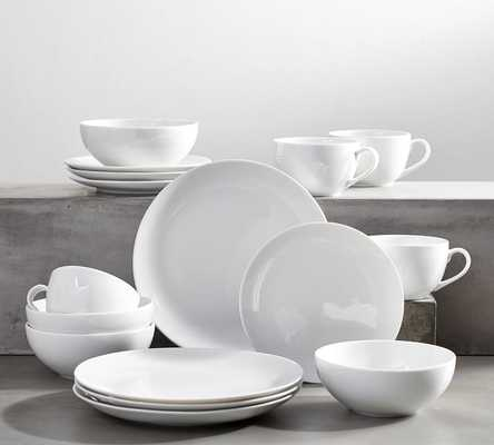 PB CLASSIC COUPE DINNERWARE 16 PIECE SET- CEREAL BOWL - Pottery Barn