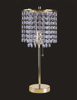 "Crystal Inspired 19"" Table Lamp - Wayfair"