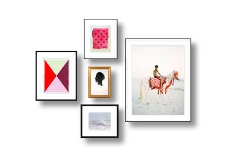 A simply wall gallery - Artfully Walls