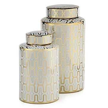 """Valencia Canister - 18.25""""H - Z Gallerie"""