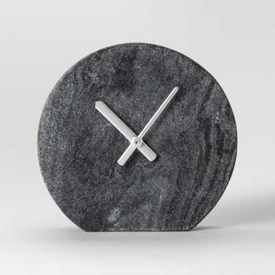 Marble Clock - Gray - Project 62™ - Target