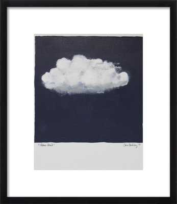 "Storm Cloud, with matte FINAL FRAMED SIZE: 19''x22"" - Artfully Walls"