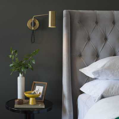 Envoy Swing Sconce - Natural Brass - Schoolhouse Electric