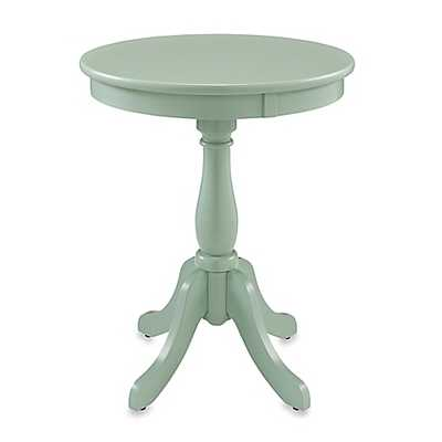 Powell Round Table in Aqua - Bed Bath & Beyond