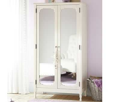 Juliette Armoire, French White - Pottery Barn Kids