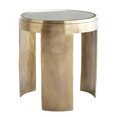 CONCAVE SIDE TABLE - Wisteria