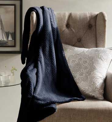 Vandling Textured Fleece Throw Blanket - Wayfair