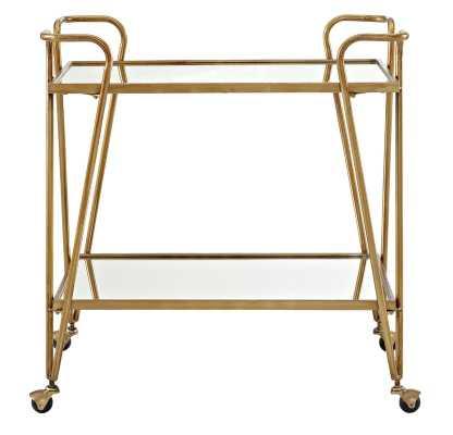 Laurence Mid-Century Bar Cart - Wayfair