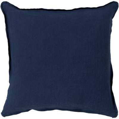 Zevgari Poly Euro Pillow, Blue - Home Depot