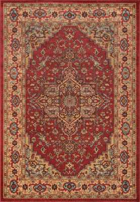 "GZ-04 RED Rug - 9'3"" x 12'6"" - Sera Rugs"