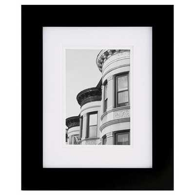 8X10 Black Frame Matted To 5X7 - Gallery Solutions - Target