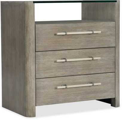 Affinity Three Drawer Nightstand - High Fashion Home