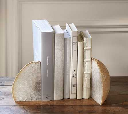 GEODE BOOKENDS, SET OF 2 - Pottery Barn