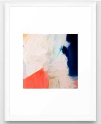 """Genna Art Print - 20"""" x 26"""" - scoop white Frame - Society6"""