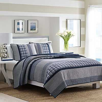 Nautica® Adelson Full/Queen Quilt in Navy - Bed Bath & Beyond