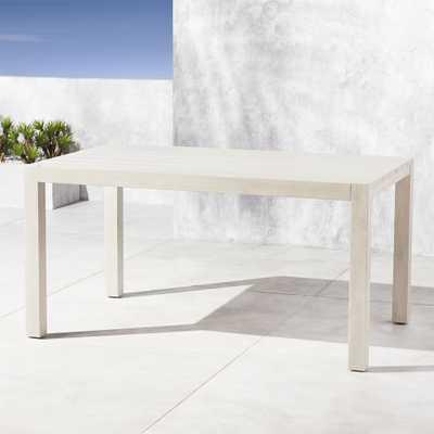 Matera Whitewash Dining Table - CB2