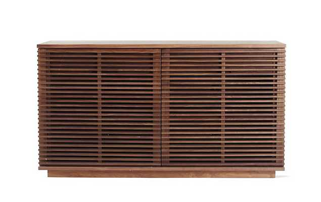 Line Credenza, Small - Walnut - Design Within Reach