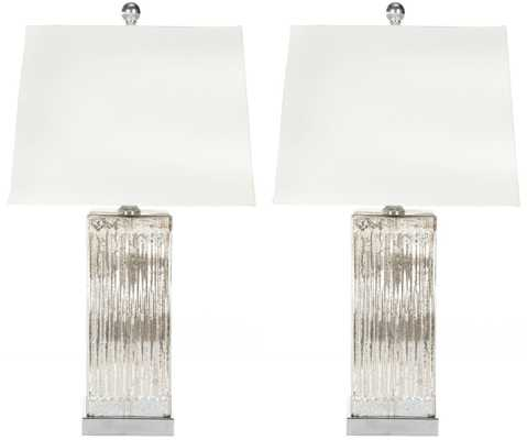 Rock Crystal Table Lamp - Set of 2 - Arlo Home