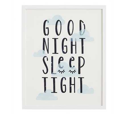 Good Night Wall Art By Minted® - Pottery Barn Kids