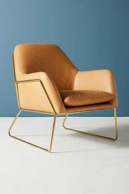 Leather Everley Chair - Anthropologie
