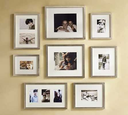 GALLERY IN A BOX FRAMES - silver - set of 15 - Pottery Barn