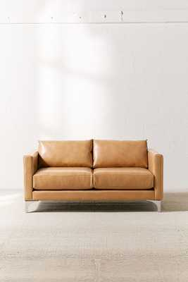 Chamberlin Recycled Leather Love Seat - Urban Outfitters