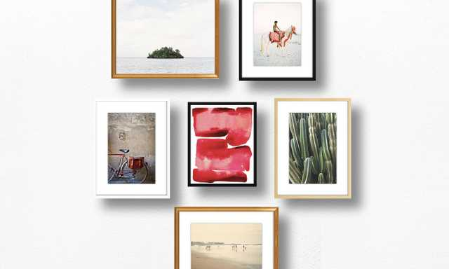 Photographic Nature Gallery Wall (UNFRAMED) - Artfully Walls