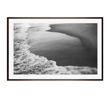 CRESCENT FRAMED PRINT BY ALICIA BOCK _ MAT/LARGE/WOOD GALLERY FRAME - Pottery Barn