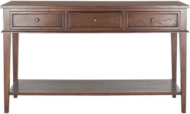 Manelin Sepia Storage Console Table - Arlo Home