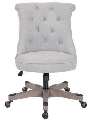 Philipsburg Tufted Office Chair, Fog - Wayfair