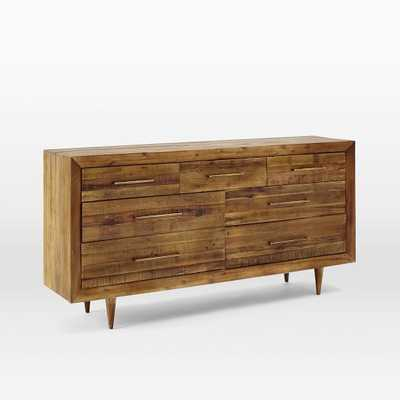 Alexa Reclaimed Wood 7-Drawer Dresser - Honey - West Elm