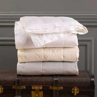 Endure™ Down Blanket - White - KG - Noble Feather Co.