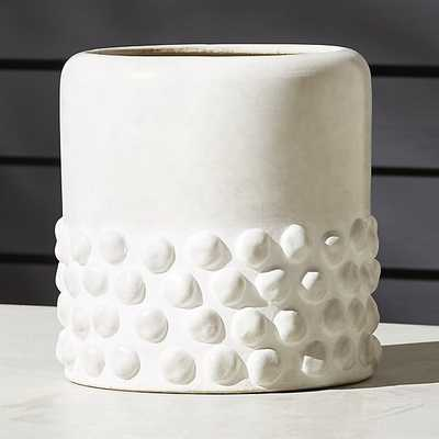 lupa white large planter - CB2