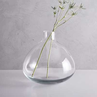 Oversized Glass Vase - West Elm