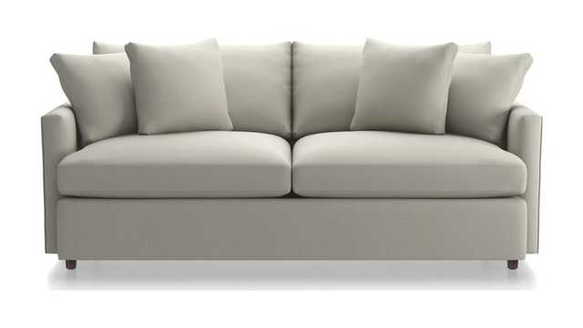 "Lounge II 83"" Sofa - Grey - Crate and Barrel"