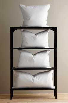 White Duck Feather Pillow Sham Filler - Queen Size - Havenly Essentials