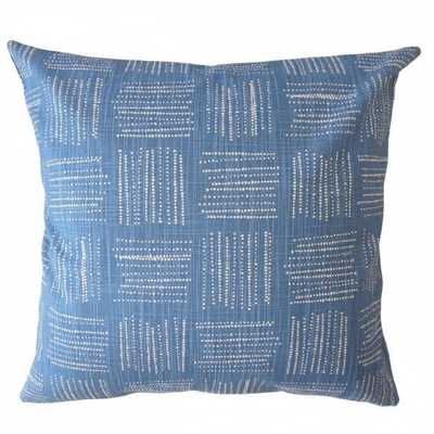 Maceo Geometric Pillow Chill - 20x20 with down insert - Linen & Seam