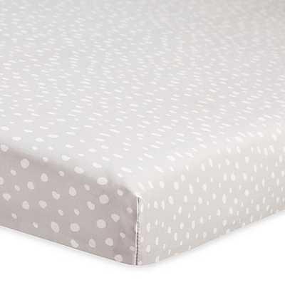 Babyletto Tuxedo Dots Fitted Mini Crib Sheet - Buy Buy Baby