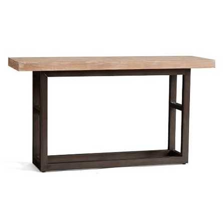 GRIFFIN RECLAIMED WOOD CONSOLE TABLE- dusty safari finish. - Pottery Barn